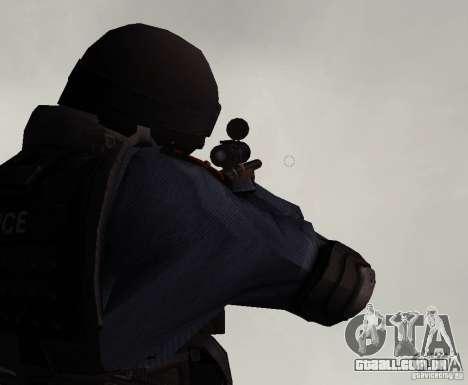 Rifle de GTA IV para GTA San Andreas terceira tela
