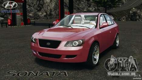 Hyundai Sonata v1.0 para GTA 4