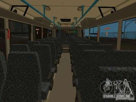 5256-LIAZ Golaz 2007 para GTA San Andreas vista interior