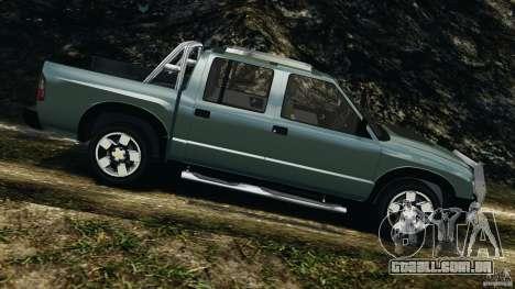 Chevrolet S-10 Colinas Cabine Dupla para GTA 4 esquerda vista