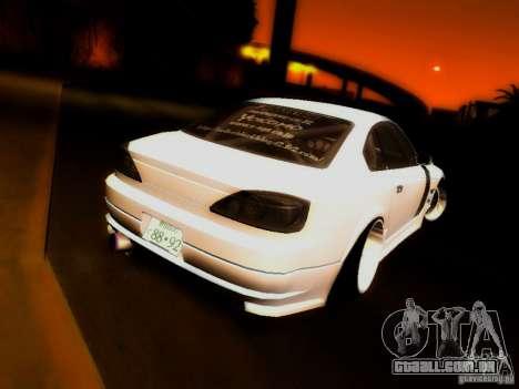 Nissan 150SX Drift para GTA San Andreas esquerda vista