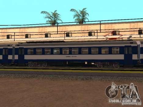 ed4mk 0073 para GTA San Andreas esquerda vista