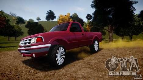 Ford Ranger para GTA 4 rodas