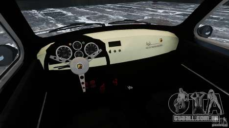 Fiat 500 695 Abarth para GTA 4 vista interior