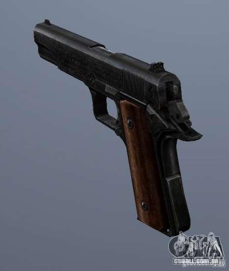 M1911 para GTA San Andreas segunda tela