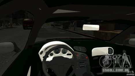 Mazda RX7 1995 Stock [EPM] para GTA 4 vista interior