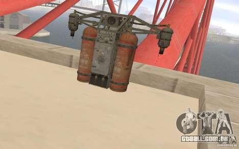 Jetpack no estilo da URSS para GTA San Andreas