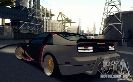 Nissan 300ZX Bad Shark para GTA San Andreas vista direita