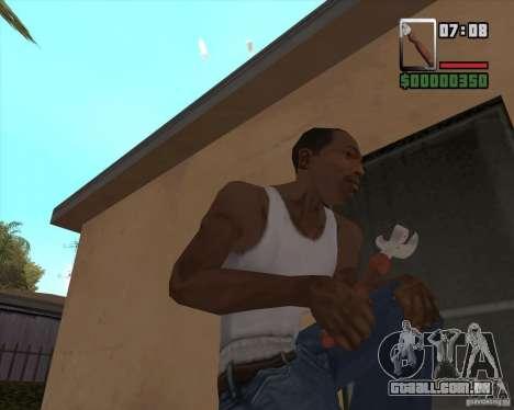 Abridor para GTA San Andreas