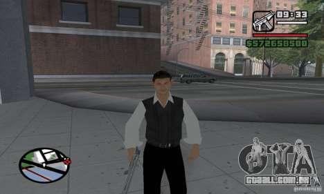 Reencarnação em um morador da cidade para GTA San Andreas