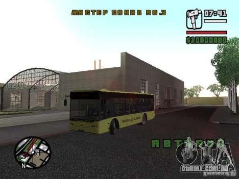 LAZ apresentado (SitiLAZ 10) para GTA San Andreas