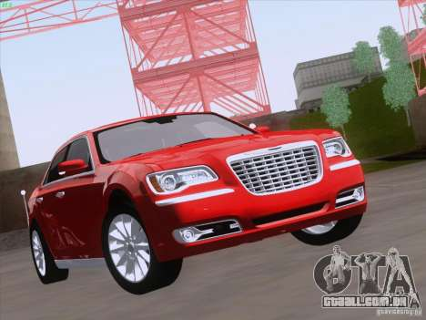 Chrysler 300 Limited 2013 para GTA San Andreas esquerda vista