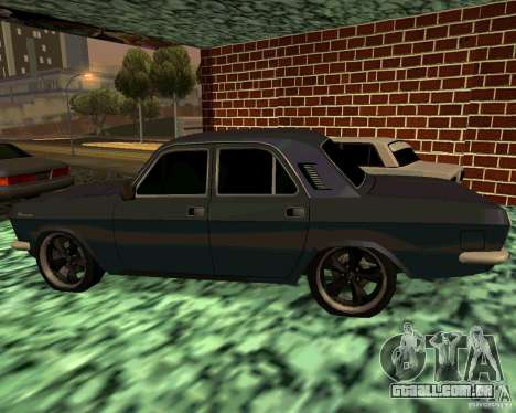 GÁS 24 v3 para GTA San Andreas esquerda vista