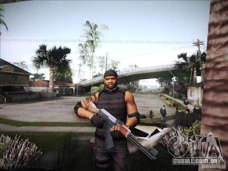 Os mercenários para GTA San Andreas quinto tela
