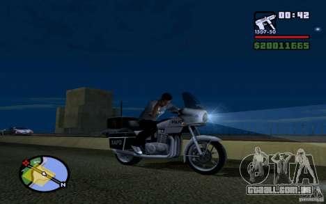 LG Optimus X2 para GTA San Andreas terceira tela