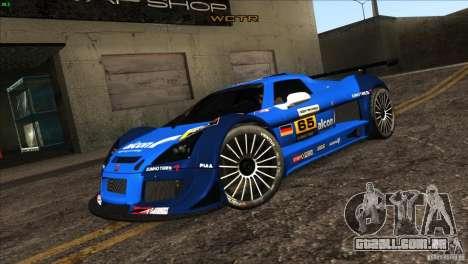 Gumpert Apollo para as rodas de GTA San Andreas