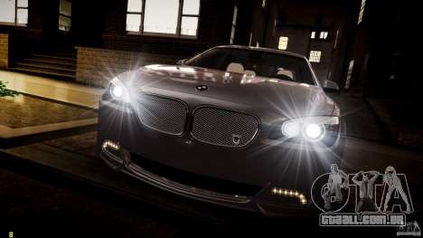 BMW 750Li Sedan ASANTI para GTA 4 vista inferior