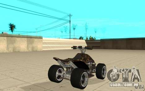 Powerquad_by-Woofi-MF pele 5 para GTA San Andreas traseira esquerda vista