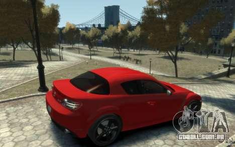 Mazda RX-8 (2006) para GTA 4 vista direita