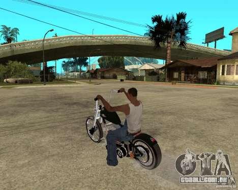 C&C chopeur para GTA San Andreas esquerda vista