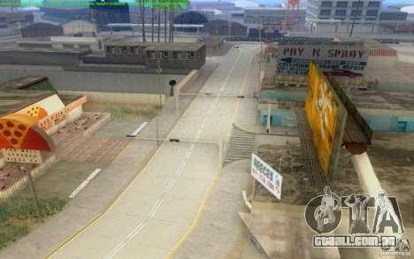 Estradas concretas de Los Santos Beta para GTA San Andreas décima primeira imagem de tela