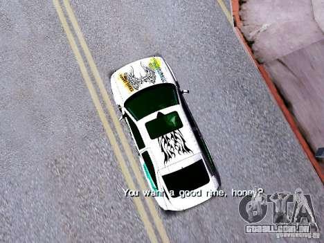 Ford Escort RS 92 Hella para GTA San Andreas vista direita