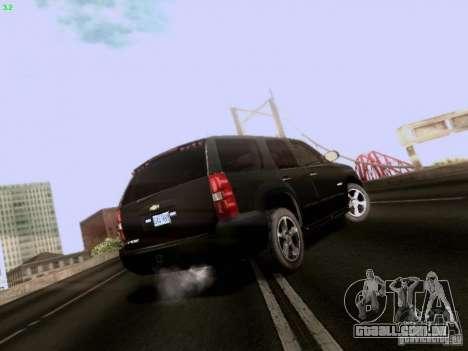 Chevrolet Tahoe 2009 Unmarked para GTA San Andreas vista direita
