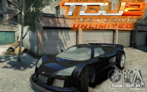 Gumpert Apollo Sport para GTA 4 traseira esquerda vista