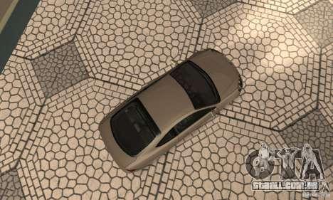 Acura RSX New para GTA San Andreas vista traseira