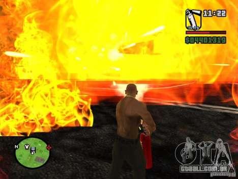 Novo extintor de incêndio para GTA San Andreas terceira tela