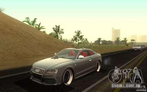 Audi S5 Black Edition para GTA San Andreas