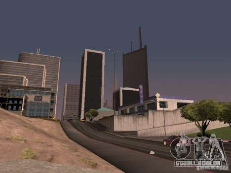 Weather manager para GTA San Andreas quinto tela