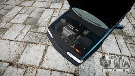 Volvo 850 Turbo 1996 para GTA 4 vista direita
