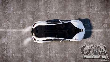 BMW Vision Efficient Dynamics 2012 para GTA 4 vista direita