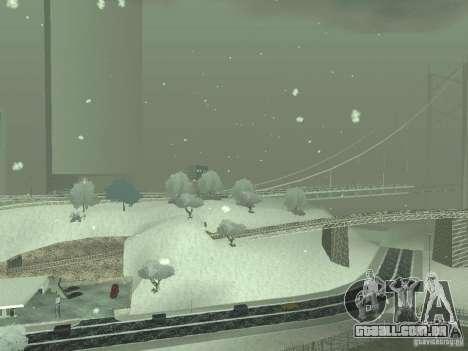 Neve v 2.0 para GTA San Andreas sétima tela