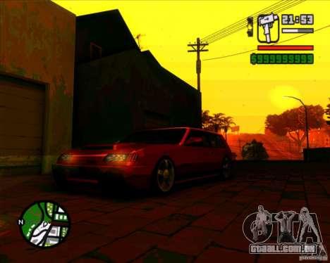 Vidro e novas luzes para GTA San Andreas