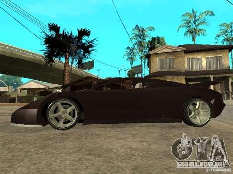 Buggati EB110 para GTA San Andreas esquerda vista