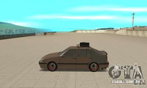 Saab 9000 GT Drifting 1998 para GTA San Andreas esquerda vista