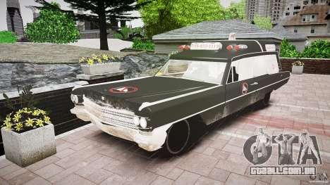 Cadillac Wildlife Control para GTA 4 traseira esquerda vista