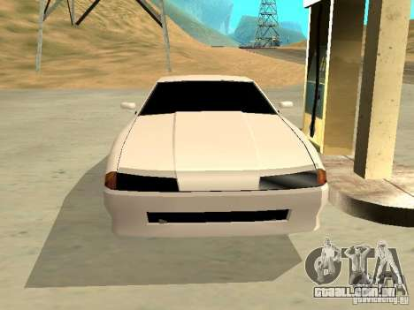 New Elegy v.1 para GTA San Andreas vista interior
