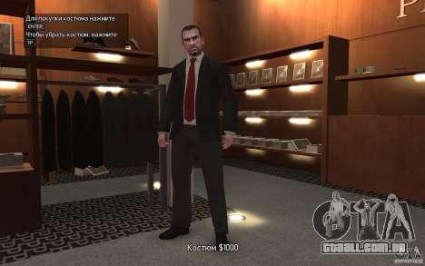 Jaquetas abertas com laços para GTA 4 por diante tela