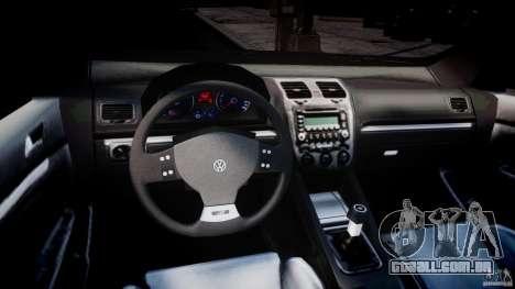 Volkswagen Golf R32 v2.0 para GTA 4 vista direita