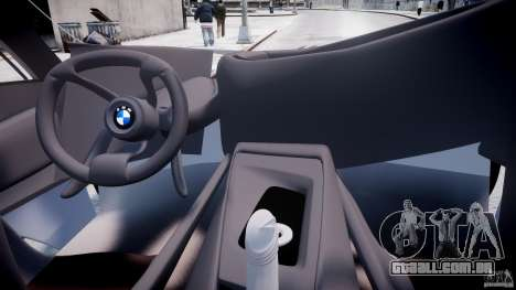 BMW Vision Efficient Dynamics v1.1 para GTA 4 vista direita