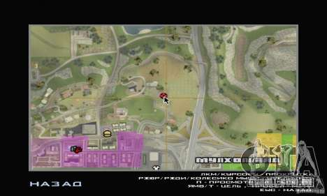 Uma Villa para GTA San Andreas sexta tela