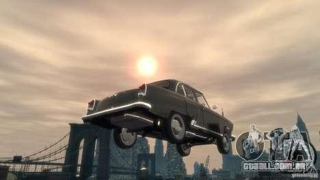 GAZ 21 1965 para GTA 4 vista superior