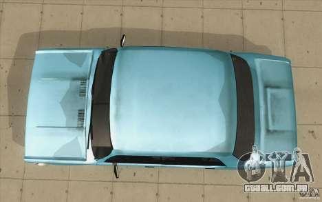 Fiat 125p para GTA San Andreas vista direita