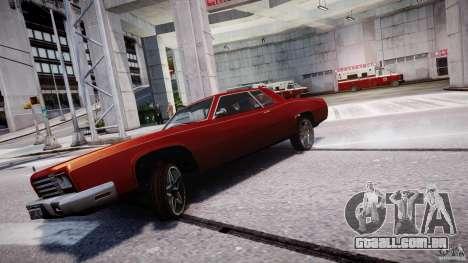 Buccaner Tuning para GTA 4 traseira esquerda vista