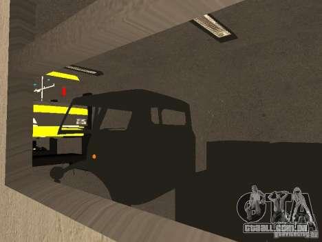 Garagem GRC em SF para GTA San Andreas por diante tela