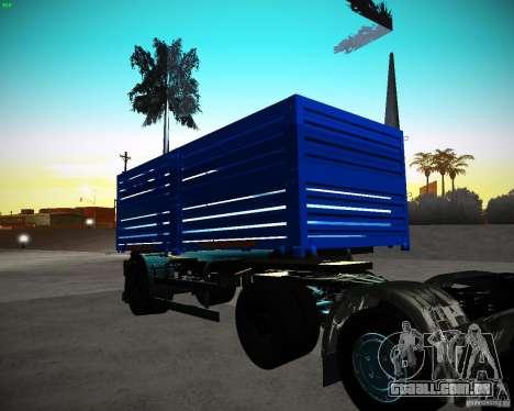 Reboque Kamaz 65117 grão para GTA San Andreas