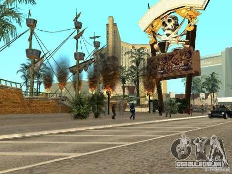 Novas texturas para casino Visage para GTA San Andreas
